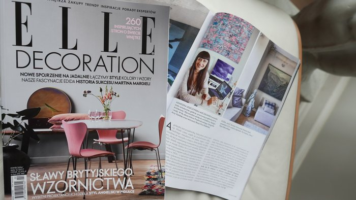 Publication in Elle Decoration